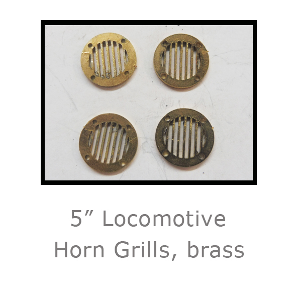 5in 37 40 Horn Grill Brass_