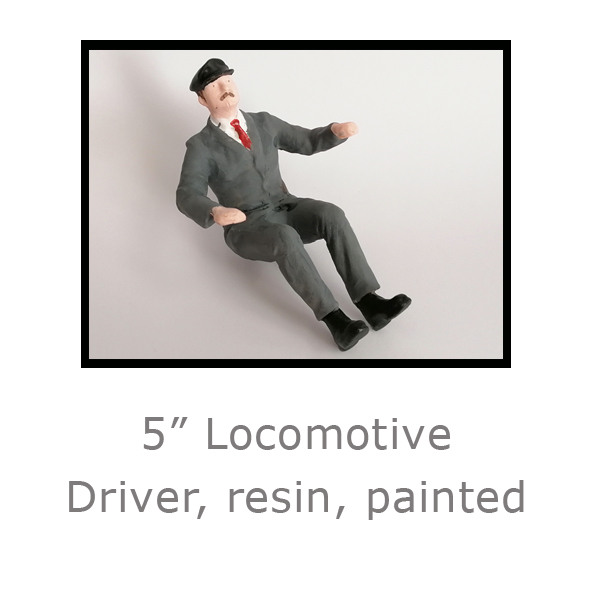 5in Locomotive Driver painted