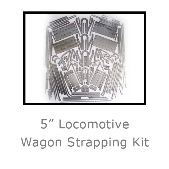 5in Locomotive Wagon Strapping Kit